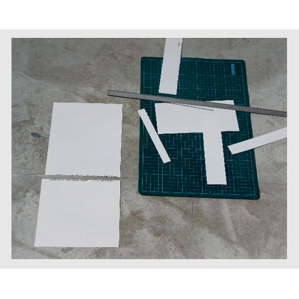 MONIKA BRANDMEIER<br/>Immer über das selbe stolpern, 2001, 3 baryte prints + 1 c-print, ed. 3+ 1