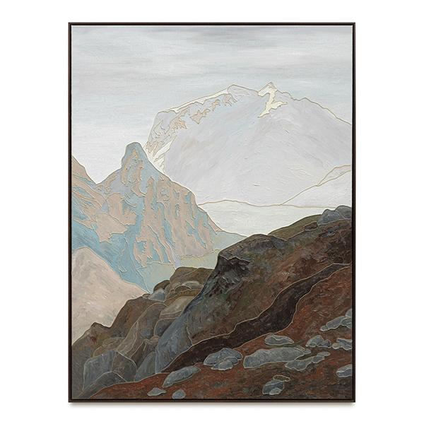 SVEN DRÜHL<br/>J.L.C., 2019, oil and silicone on canvas, 160 x 120 cm