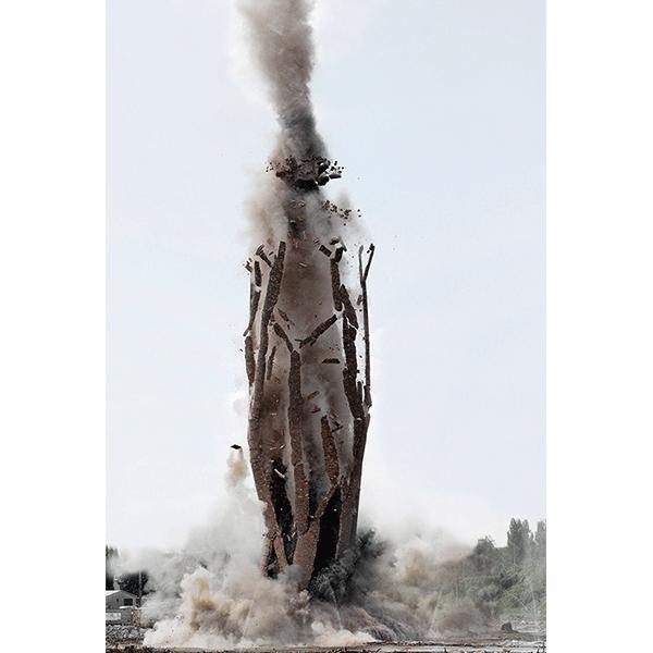 ANNA VOGEL<br/>Ground Blast, 2016, pigment print, 61 x 41 cm, ed.5