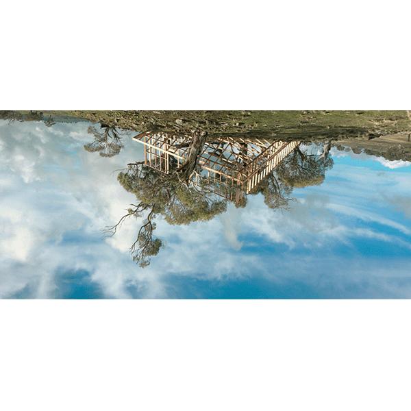 ROSEMARY LAING<br/>leak: Eadith, 2012, archival inkjet print, 93 x 176 cm, ed. 10