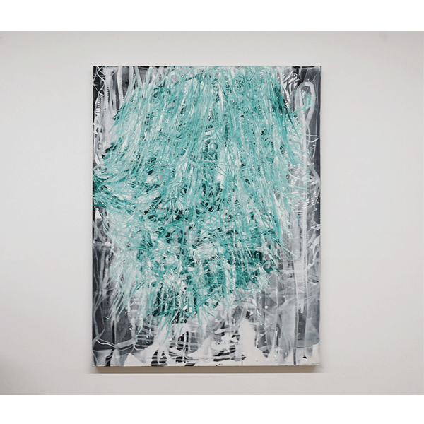 OLAV CHRISTOPHER JENSSEN<br/>The Late Letharia Painting, 2016, oil on canvas, 160 x 120 cm