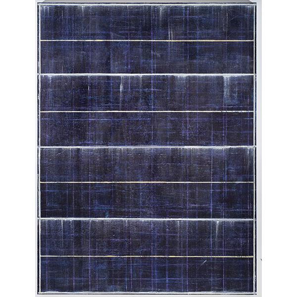 PIUS FOX</br>PF 18-073 Raumdurchquerung, 2018, egg tempera and oil on canvas, 200 x 150 cm