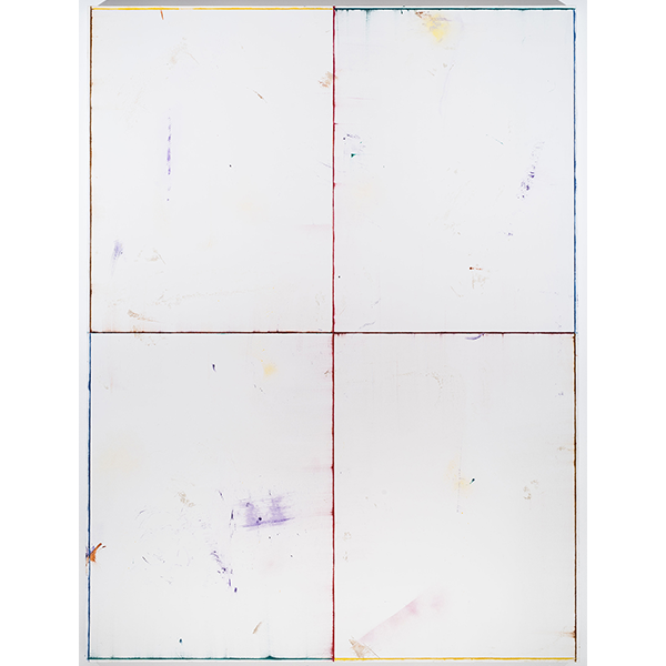 PIUS FOX</br>PF 18-074 Alabasterfenster, 2018, acrylic and oil on canvas, 200 x 150 cm