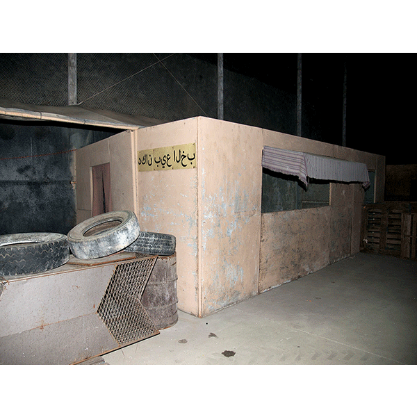 JOSCHA STEFFENS<br/>POTU-Bagdad Hideout, 2014, 72 x 54 cm