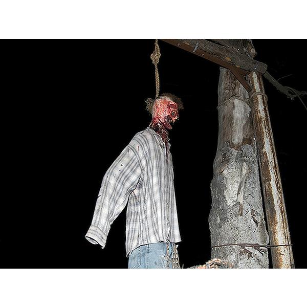 JOSCHA STEFFENS<br/>POTU-Hanged Victim, 2014, 72 x 54 cm