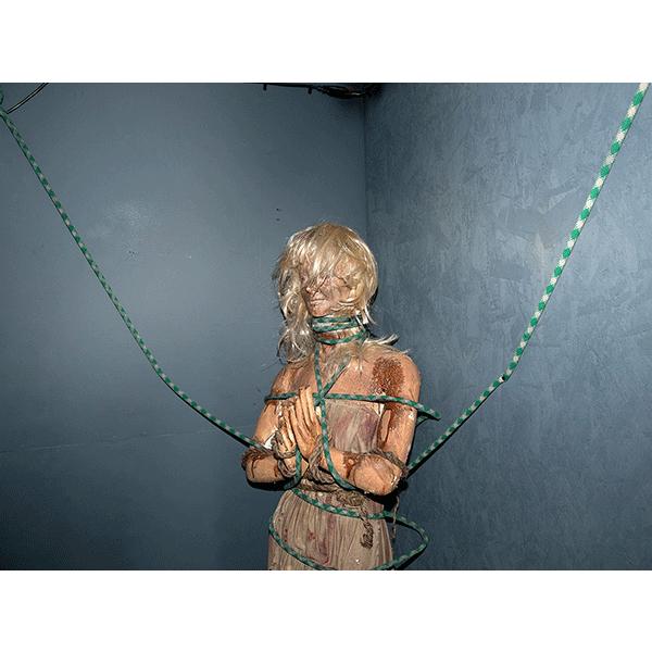 JOSCHA STEFFENS<br/>POTU-Tied Woman Tortured, 2014, 72 x 54 cm