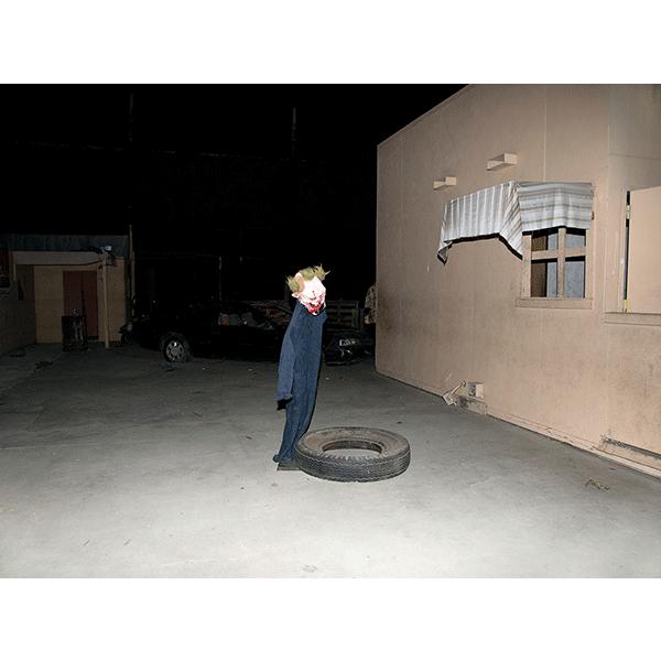 JOSCHA STEFFENS<br/>POTU-Zombie I Joker, 2014, 72 x 54 cm