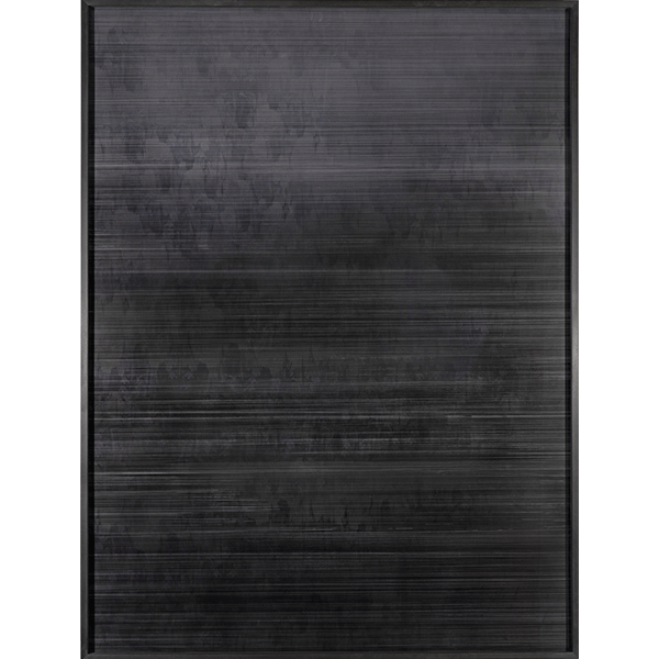 ANNA VOGEL<br/>Speaker V, 2019, pigment print, ink, scratched, 160 x 120 cm, unique