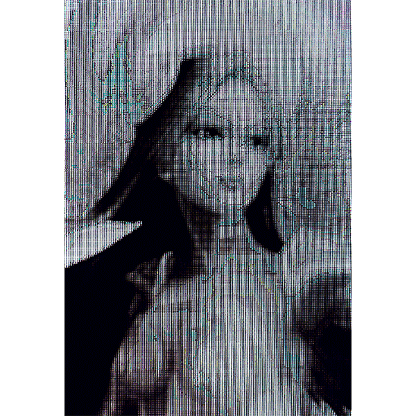 JOSCHA STEFFENS<br/>Teen Spirit Island, Irelia, 2015, mixed Media, 300 x 203 cm