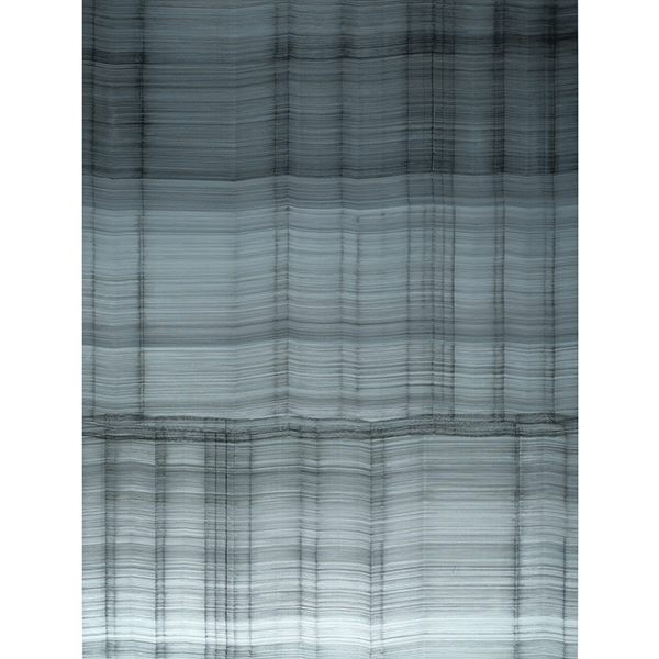 ANNA VOGEL<br/>Translator XV, 2019, ink on pigment print, 160 × 120 cm, unique