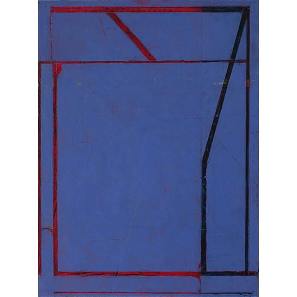 PIUS FOX</br> Untitled, 2019, oil on paper on aluminium, 24 x 18 cm