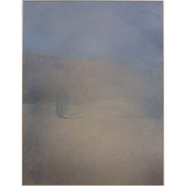 ANNA VOGEL<br/>Untitled, 2018, varnish on pigment print, 80 x 60 cm, ed. of 5 (all 5 individually airbrushed)
