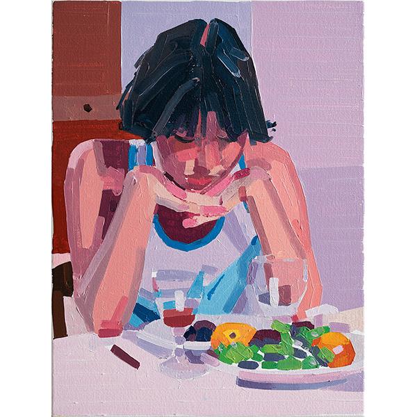 GUY YANAI<br />Pauline, 2020, oil on canvas, 40 x 30 cm