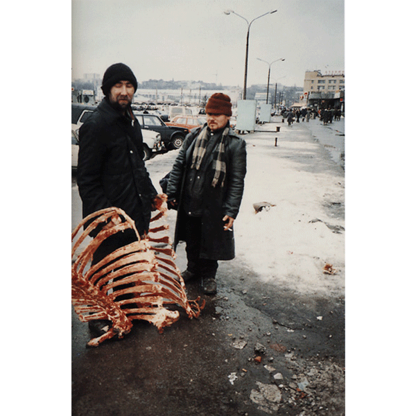 BORIS MIKHAILOV<br/>Case History #107, 1997/1998, 2000, c-print 61 x 40 cm, ed.of 10