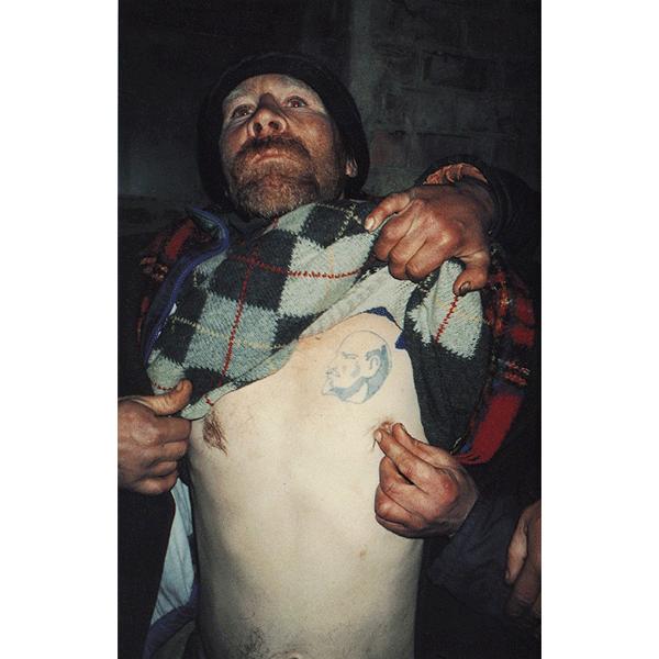 BORIS MIKHAILOV<br/>Case History #308, 1997/1998, 2000 c-print 61 x 40 cm, ed.of 10