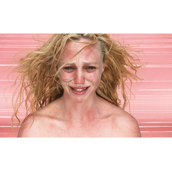 ROSEMARY LAING<br/>Grieving blondes #1, 2009, c-type photograph, 77 x 130 cm, framed