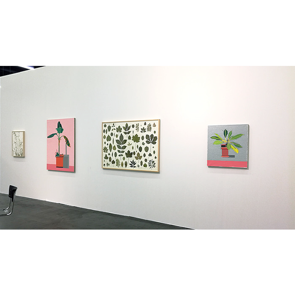 GUY YANAI/herman de vries</br> CONRADS, ART COLOGNE 2017