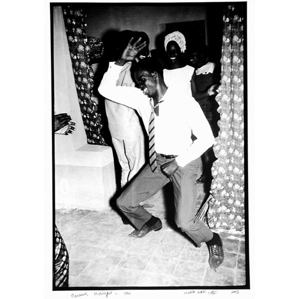 MALICK SIDIBÉ<br/>Merengue dancer, 1964/2003, silver gelantine print, 60 x 50 cm