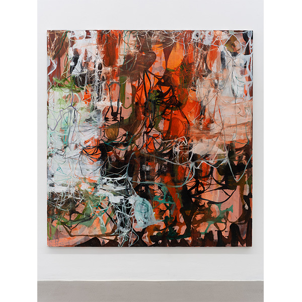 OLAV CHRISTOPHER JENSSEN<br/>Rubicon Painting No. 04, 2019/20, oil and acrylic on canvas, 195 x 185 cm