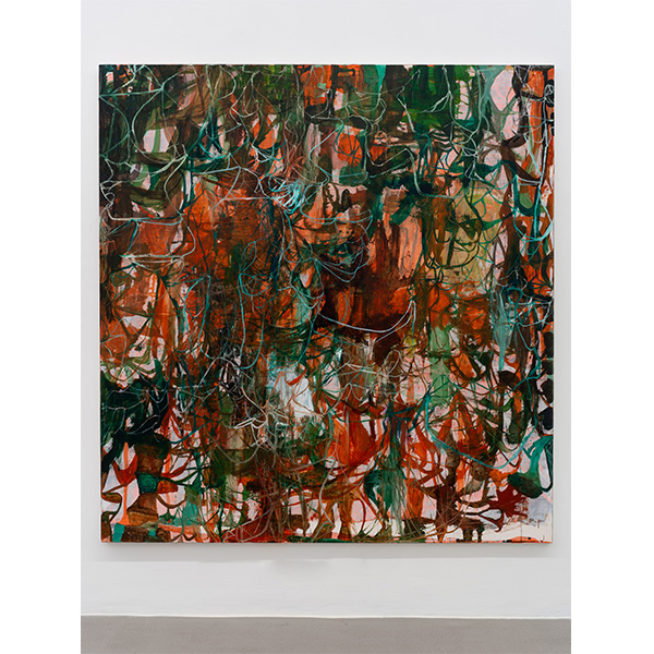 OLAV CHRISTOPHER JENSSEN<br/>Rubicon Painting No. 07, 2019, oil and acrylic on canvas, 195 x 185 cm