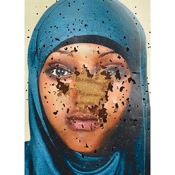 JOSCHA STEFFENS<br/>VIPER, 2017, wallpaper, 356 x 252 cm
