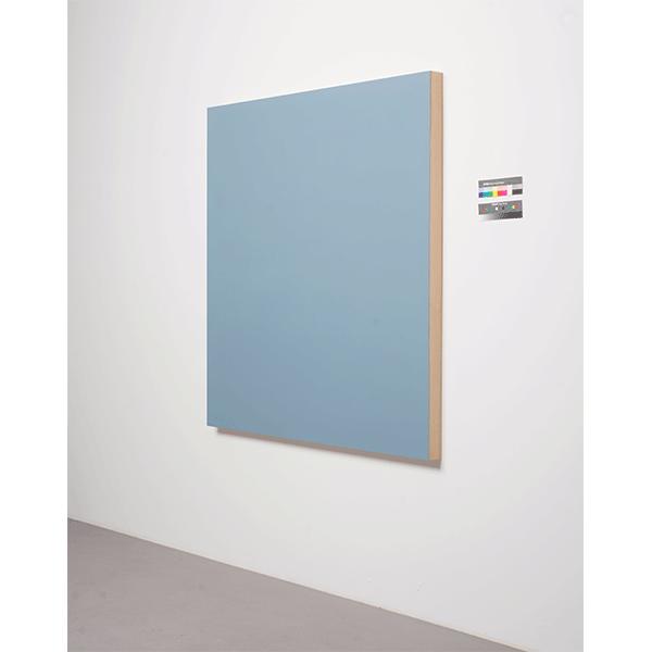 MARCIA HAFIF</br> Squale 4024 (Tollens Lidoll), 1991, enamel on Wood, 140 x 140 cm