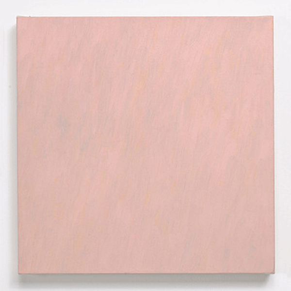 MARCIA HAFIF<br/>French Painting: Mélingue, 1992, oil on canvas, 52,5 x 52,5 x 5,5 cm