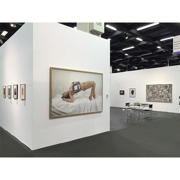 mounir fatmi<br/>CONRADS, ART COLOGNE 2015
