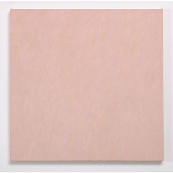 MARCIA HAFIF<br/>French Painting: Cachin, 1991, oil on canvas, 73,5 x 73,5 cm