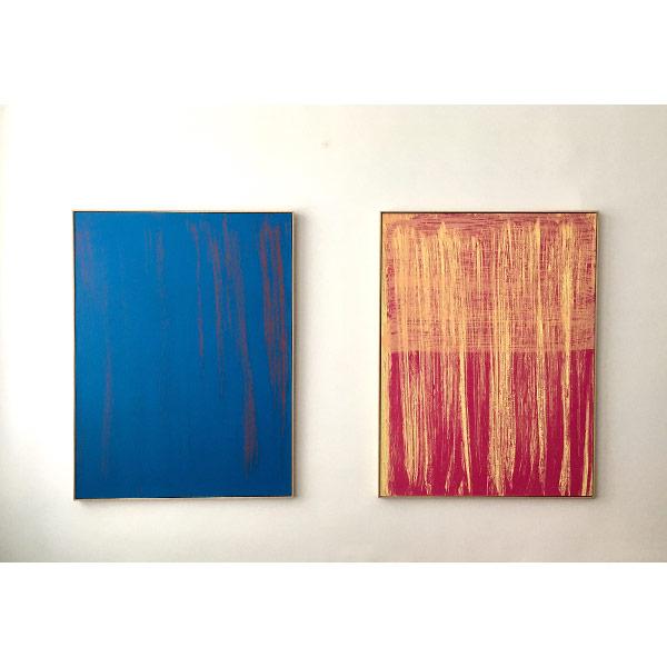 KATHARINA GROSSE<br/>each: Untitled, 1999, original silk screen print<br/>on Velin Arches Bütten 400, 137,5 x 102 cm, Ed. 30 /ed. of 30