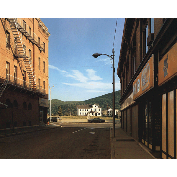 STEPHEN SHORE<br/>Holden St. North Adams, Massachusettes, 13/7/1974, 2000, c-print on Fuji Crystal, 50,8 x 61 cm, ed. 8