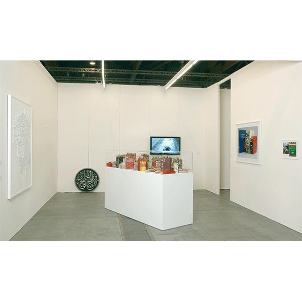 mounir fatmi<br/>CONRADS, ART BRUXELLES 2010