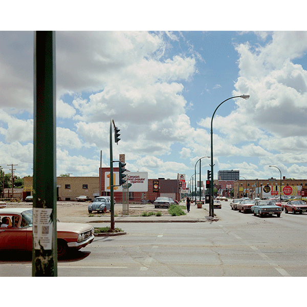 STEPHEN SHORE<br/>Victoria Avenue and Albert St., Regina, Sasketchewan, 17/8/1974, 2000, c-print 51 x 61 cm, ed. 8