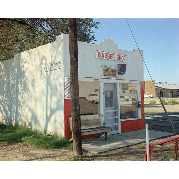 STEPHEN SHORE<br/>E. Walnut St Roswell, New Mexico, 9/26/1974, 2000, c-print, 51 x 61 cm