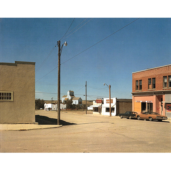 STEPHEN SHORE<br/>Main Street, Gull Lake, Sakatchewan, 17/8/1974, 2000, c-print, 51 x 61 cm