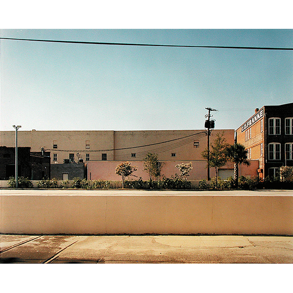 STEPHEN SHORE<br/>Cumberland Street, Charleston, South Carolina, 3/8/1975, 2000, c-print, 51 × 61 cm