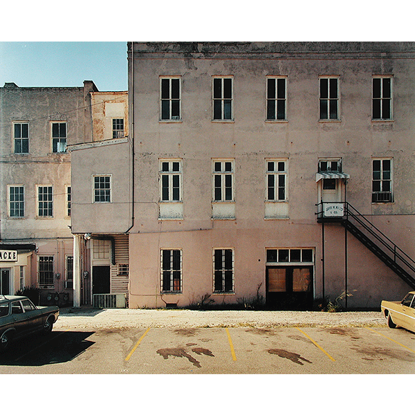 STEPHEN SHORE<br/>Meeting Street, Charleston, South Carolina, 3/8/1974, 2000, c-print, 51 x 61 cm