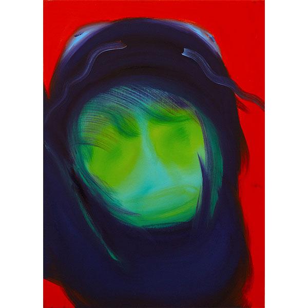 ANETA KAJZER<br/>Versteckspiel, 2021, oil on canvas, 70 x 50 cm