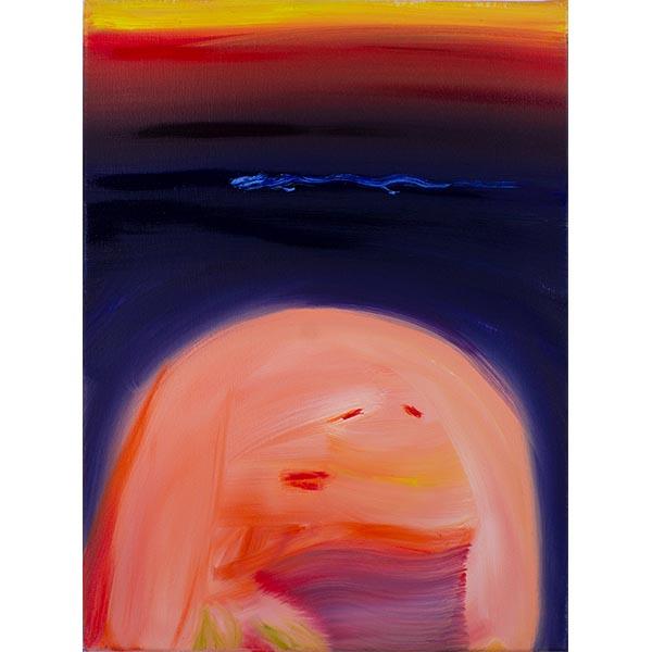 ANETA KAJZER<br/>Fantasia, 2020, oil on canvas, 60 x 45 cm