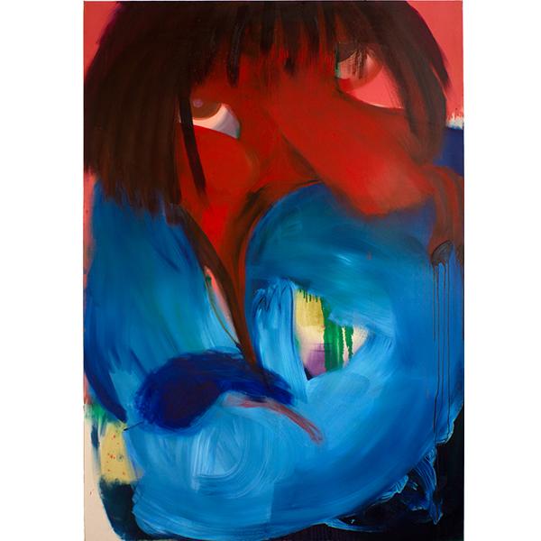Heartaches, 2018 Oil on canvas, 200 x 140 cm