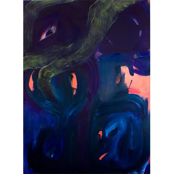 ANETA KAJZER<br/>Meerjungfrauen Melancholie, 2019, oil on canvas, 260 x 190 cm