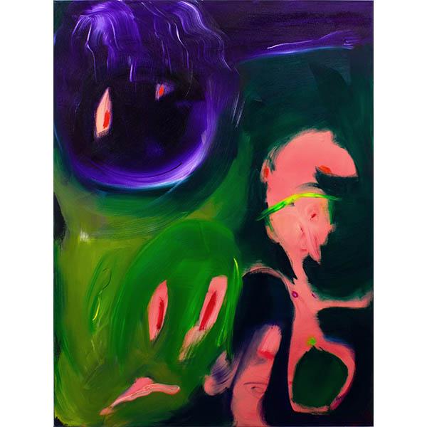 ANETA KAJZER<br/>Tanz, 2020, oil on canvas, 160 x 120 cm