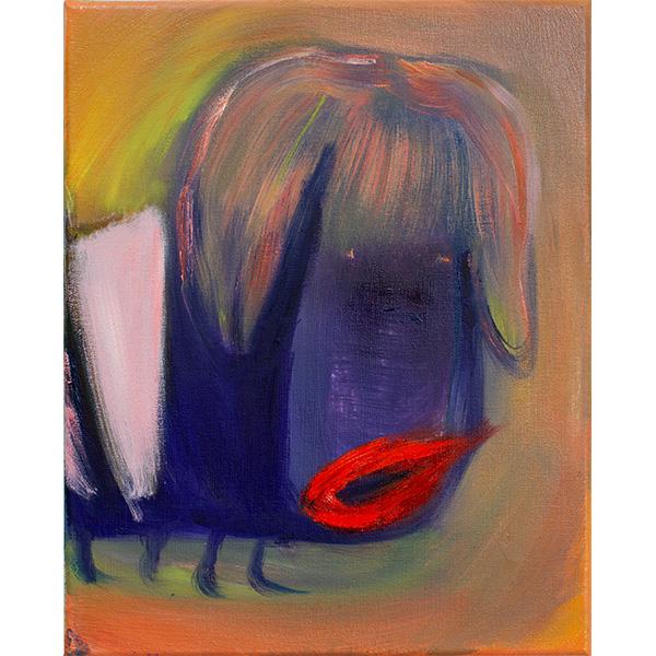 ANETA KAJZER<br/>Tierchen, 2020, oil on canvas, 40 x 32 cm