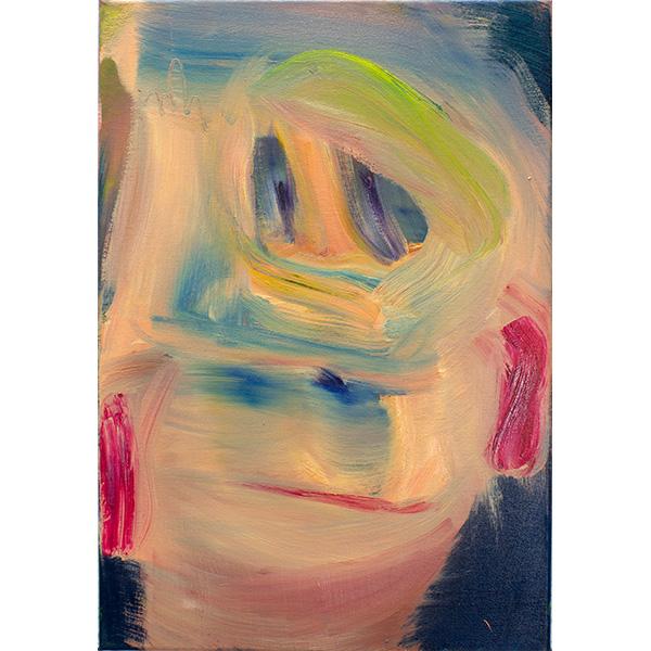 ANETA KAJZER<br/>Ungewissheit, 2020, oil on canvas, 60 x 42 cm
