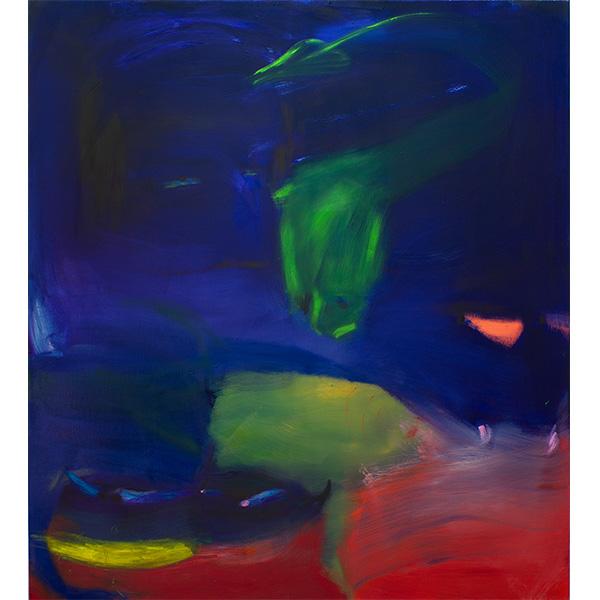 ANETA KAJZER<br/>Venom, 2020, oil on canvas, 145 x 130 cm