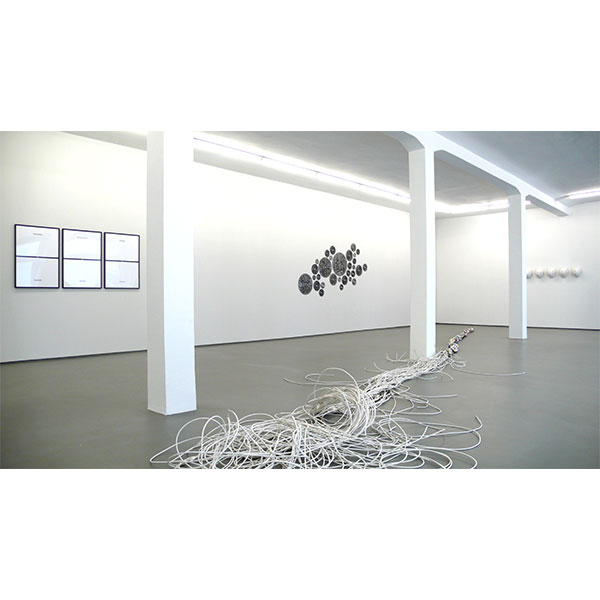 mounir fatmi<br /> installation view, CONRADS 2009